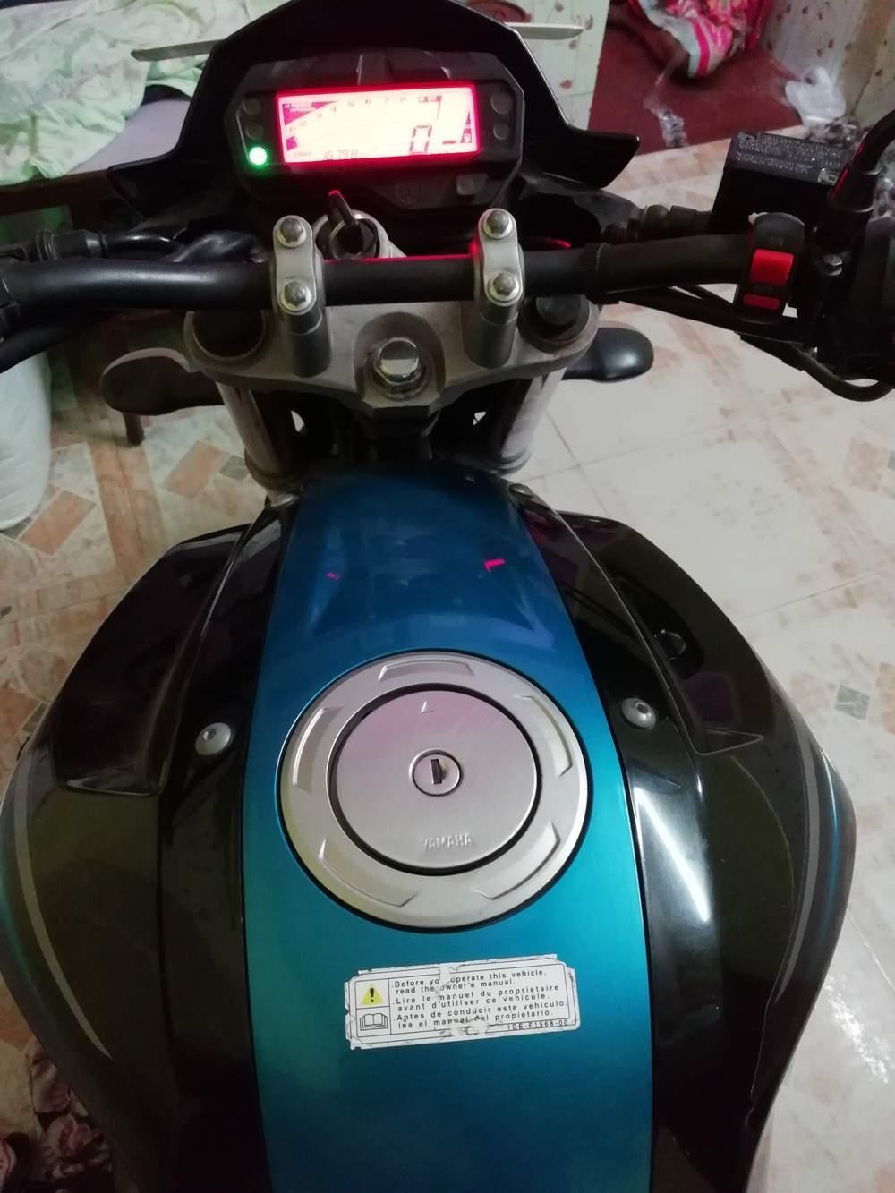 Yamaha Fz S V20 Fi Front View