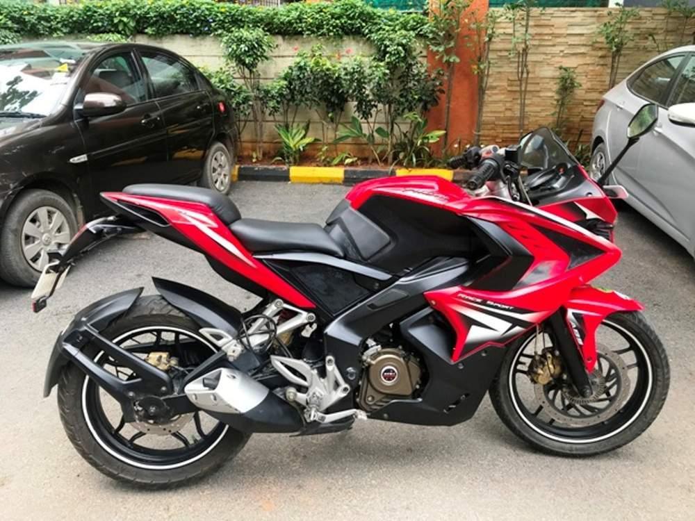 used bajaj pulsar rs 200 bike in bangalore 2015 model india at best