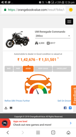 Um Motorcycles Renegade Commando Front Tyre