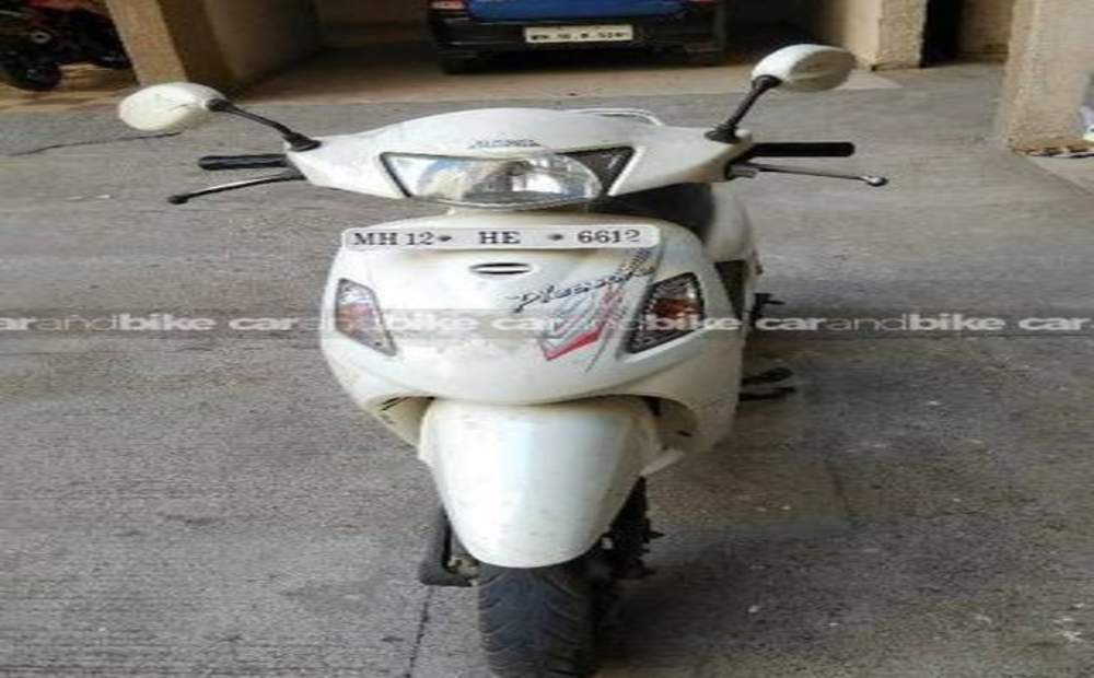 Hero Honda Pleasure Std Front View