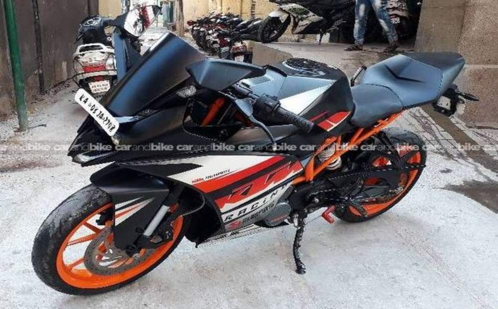 Ktm Rc 200 Std Front View