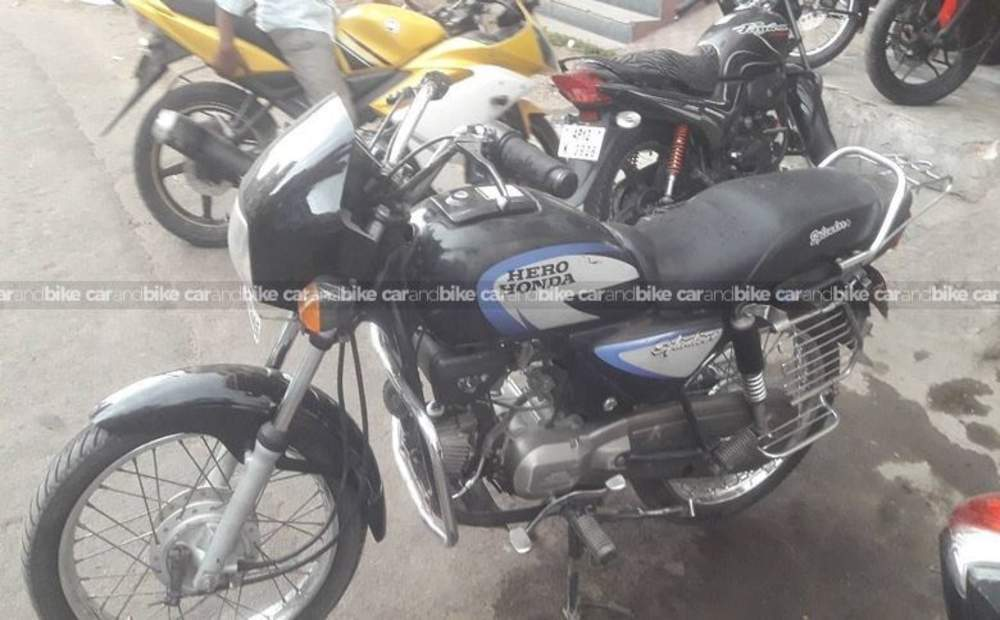 Hero Honda Splendor Plus Std Front View