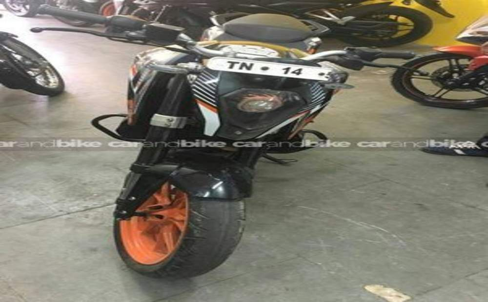 Ktm 390 Duke Abs Front View
