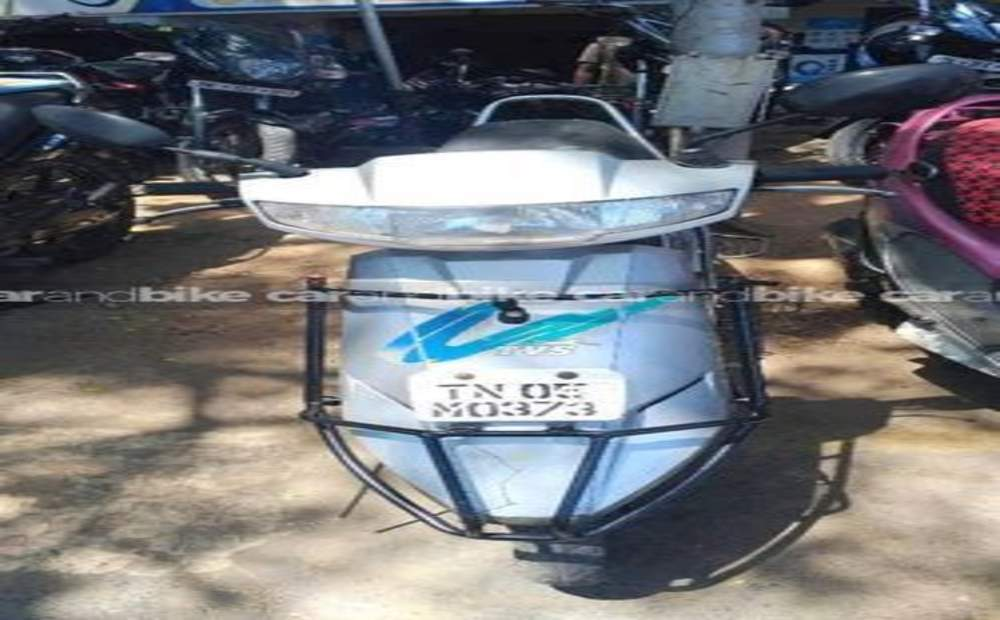 Tvs Scooty Std Front View