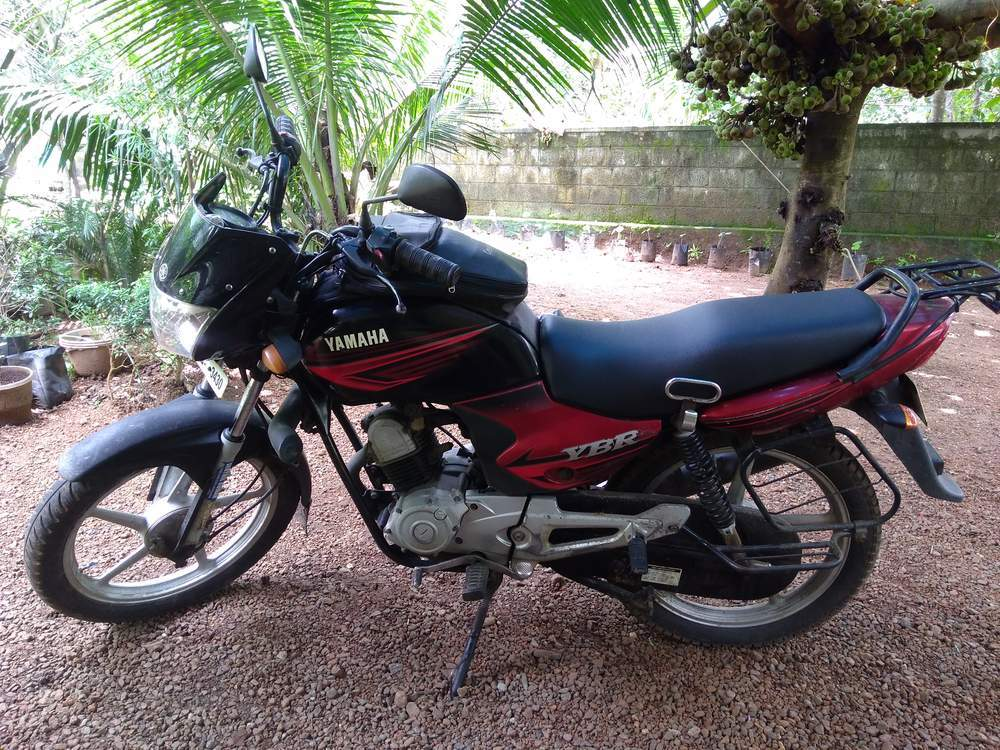Yamaha Ybr 110 Right Side