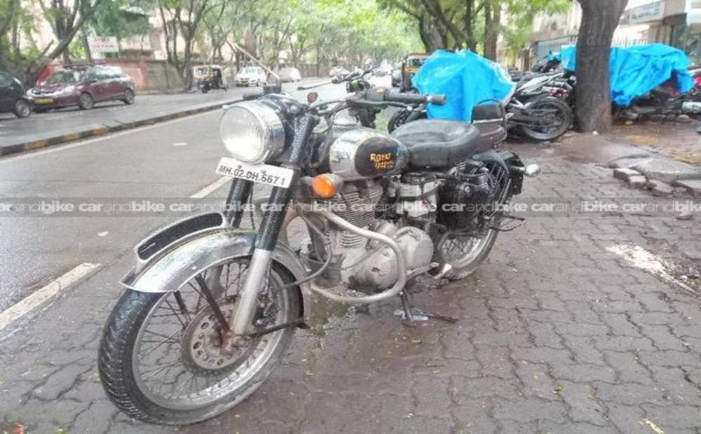 Royal Enfield Classic Chrome Standard Front View