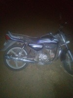 Hero Honda Cd Deluxe Right Side