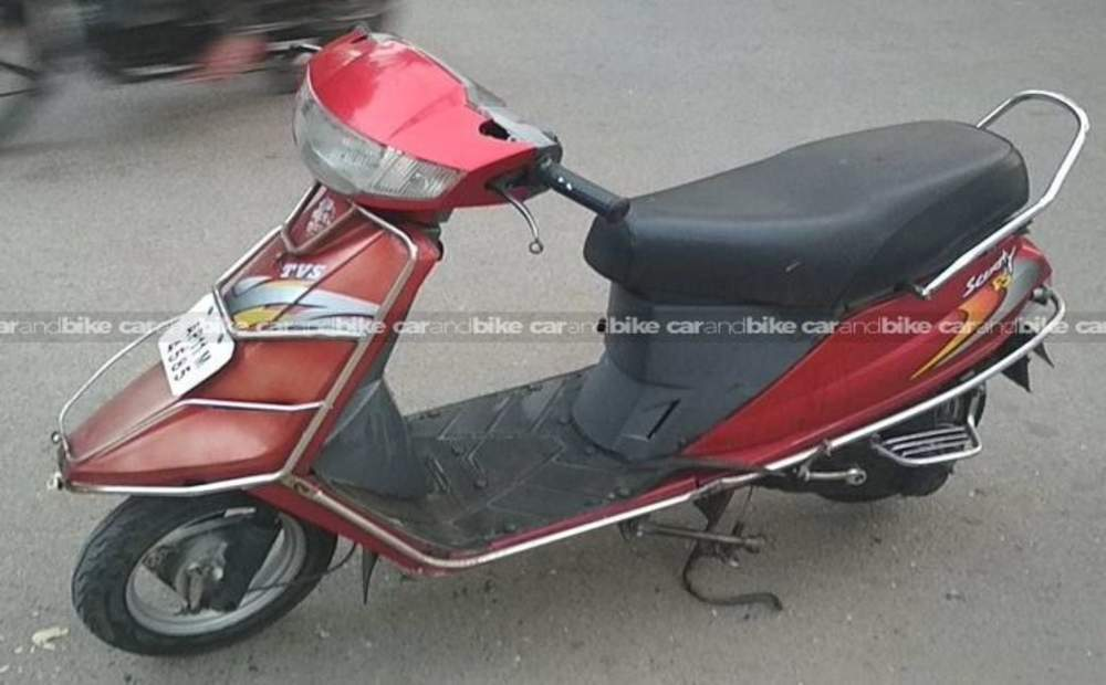 Tvs Scooty Teenz E Bike Front View