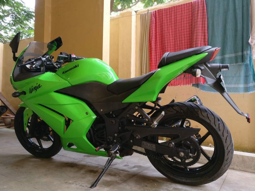 Used Kawasaki Ninja 300 Bike In Chennai 2011 Model India At Best