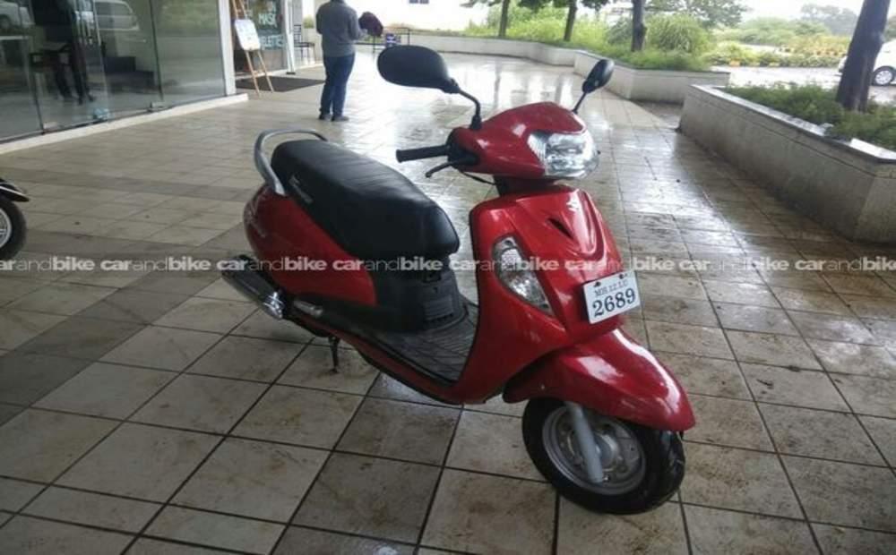 Suzuki Access 125 Drum Brake Front View
