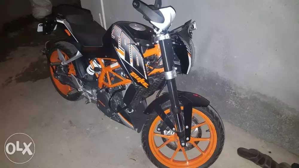 Ktm 390 Duke Rear View