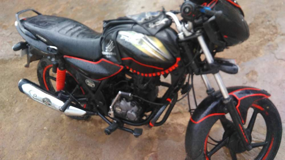 Bajaj Discover 100 Rear View