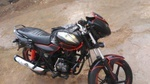 Bajaj Discover 100 Left Side
