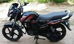 Tvs Star City Plus Kick Start Mag Rear View