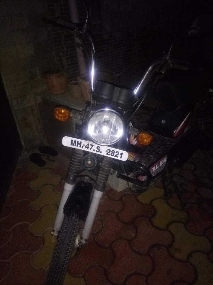 Used Tvs Xl 100 Bike In Mumbai 2017 Model India At Best Price Id 17069