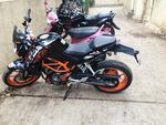 Ktm 390 Duke Right Side