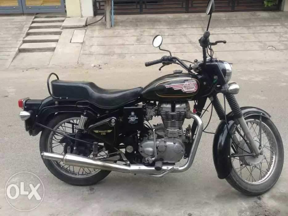 Used Royal Enfield Bullet 350 Bike in Kanchipuram 2014 model