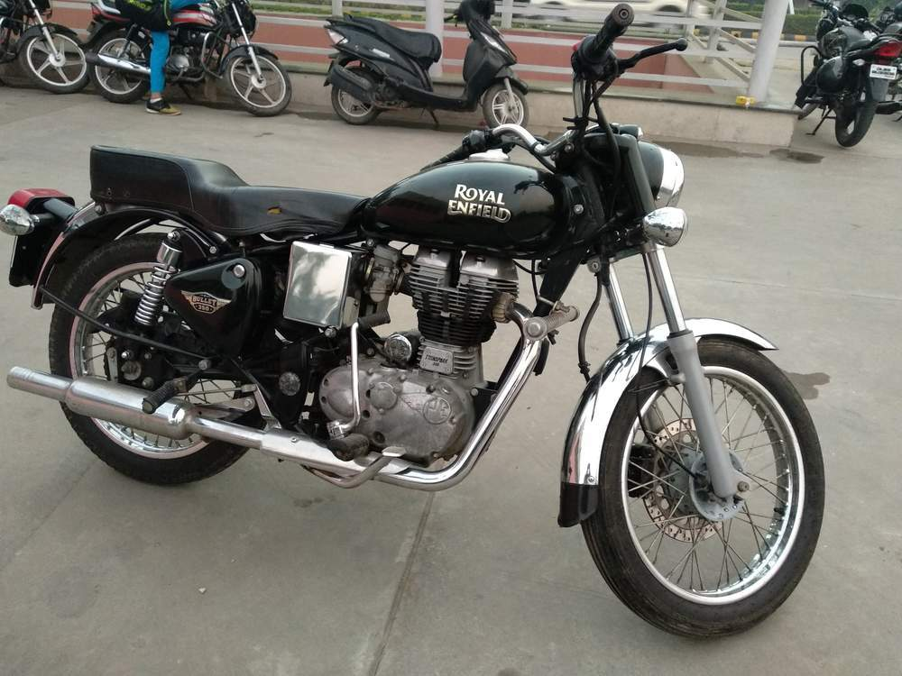 Used Royal Enfield Bullet Electra Bike In North Delhi 2014 -9796