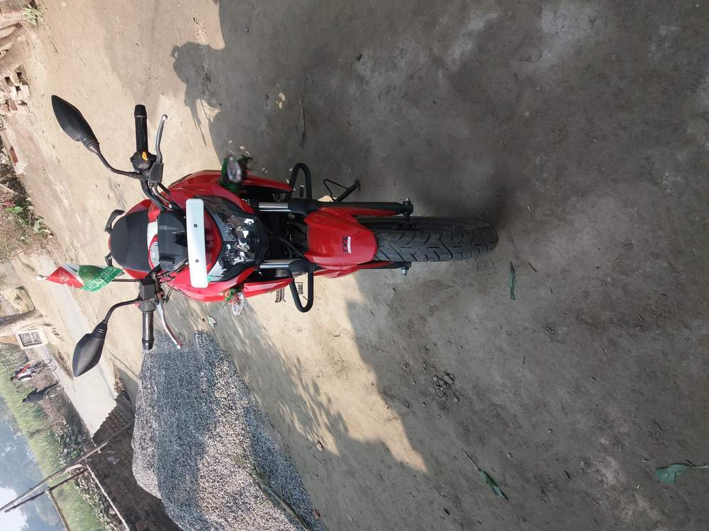 Tvs Apache Rtr 160 4v Front View
