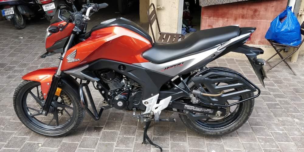 used honda cb hornet 160r bike in mumbai 2016 model india. Black Bedroom Furniture Sets. Home Design Ideas