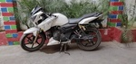 Tvs Apache Rtr 180 Left Side