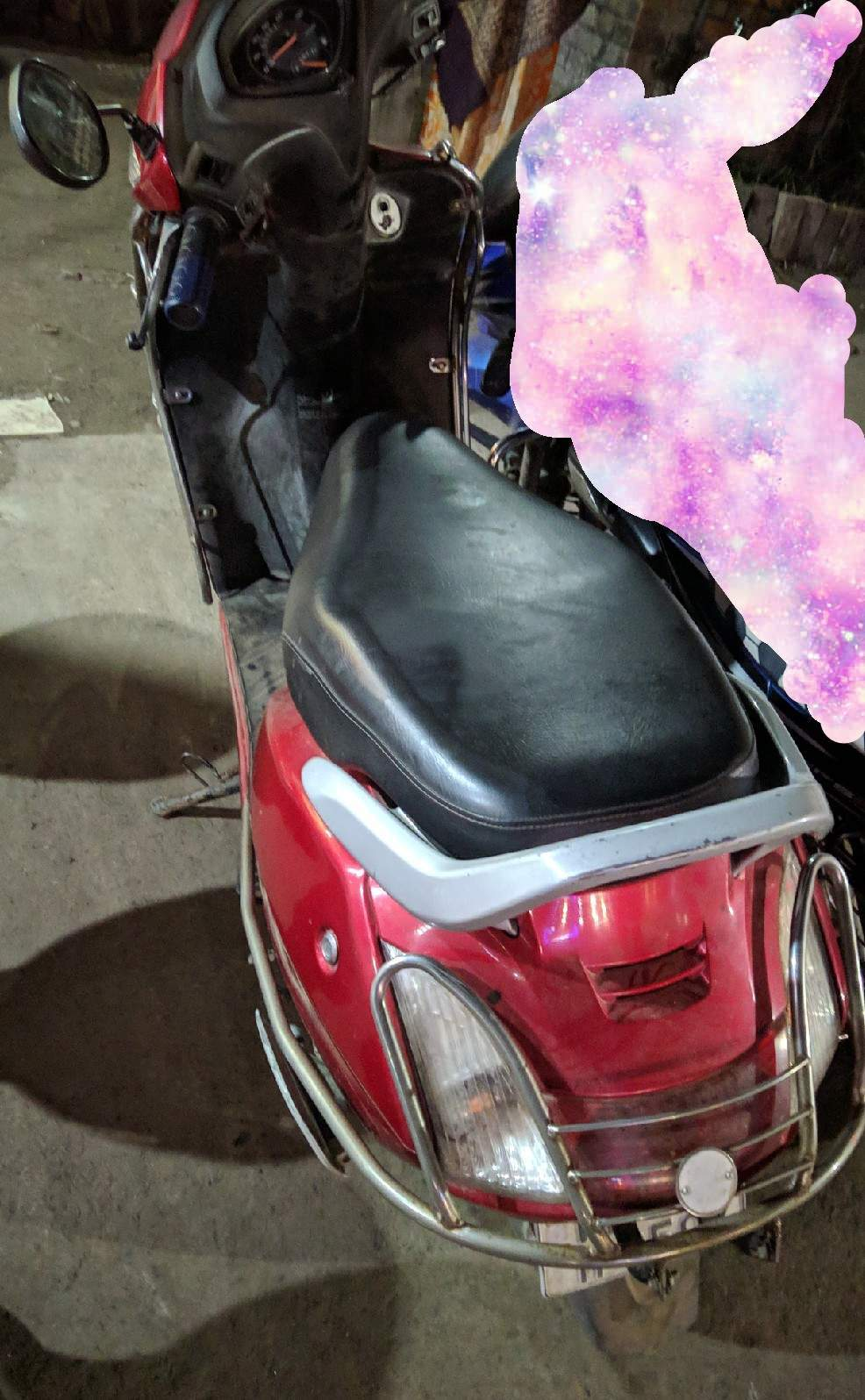 Honda Activa Rear View