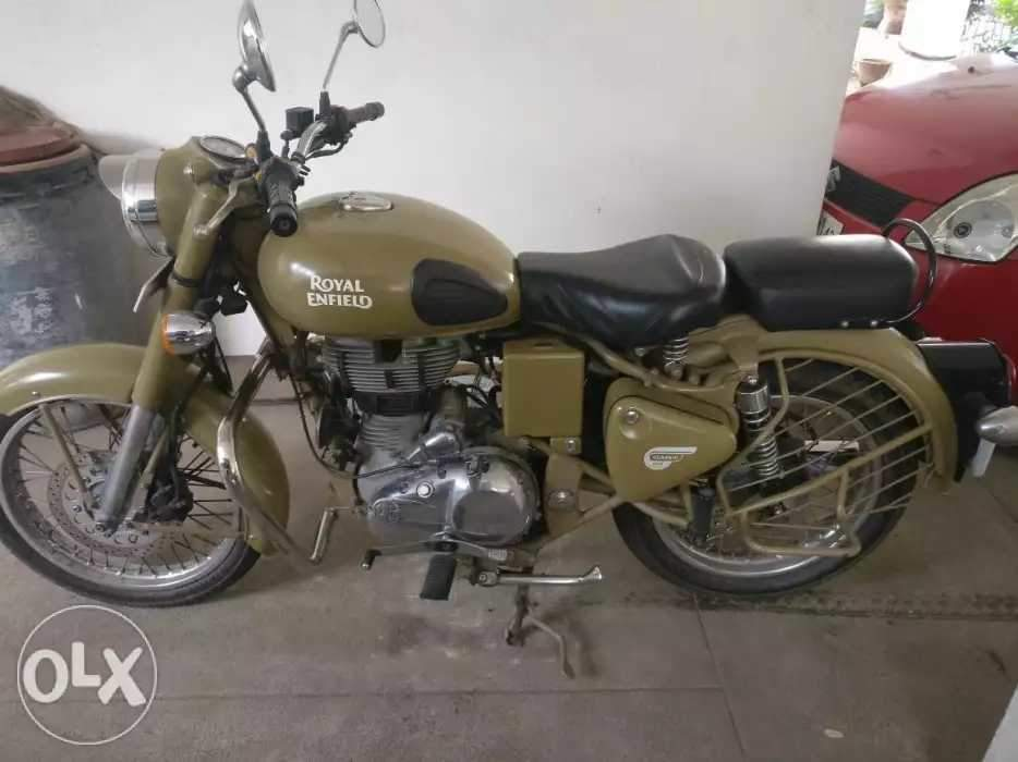 Used Royal Enfield Classic Desert Storm Bike in Chennai