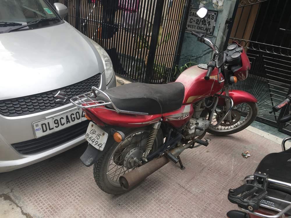 Kawasaki Caliber Front View