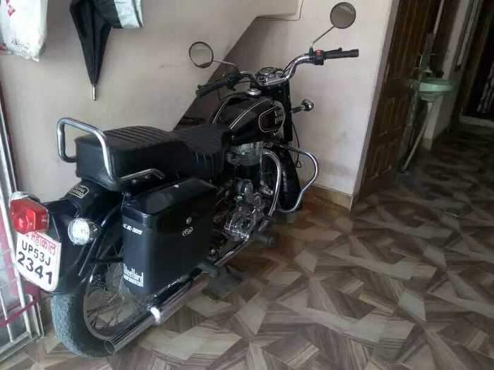 Used Royal Enfield Bullet 350 Bike In Gorakhpur 1999 Model India At