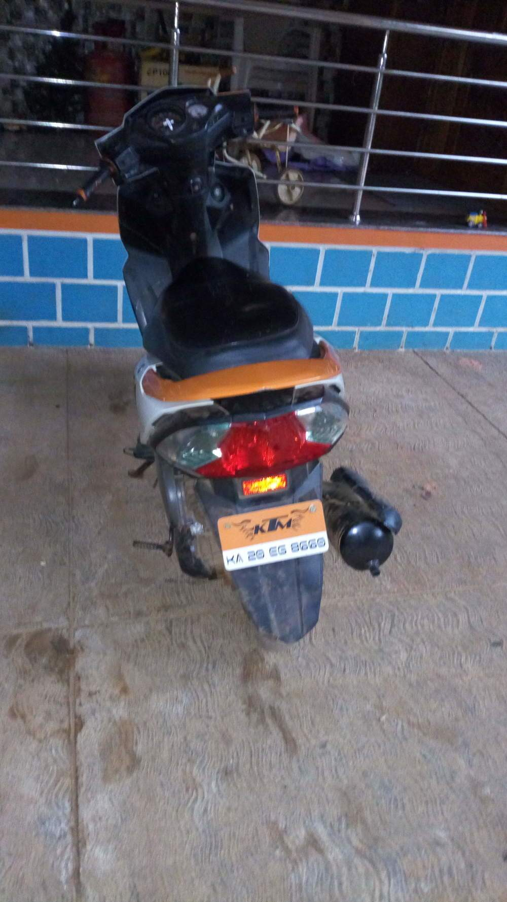 Honda Dio Rim Stickers Satu Sticker Bike Design Spedy Red Reflecting For Source Used In Udupi 2014 Model India At Best Price Id 2678