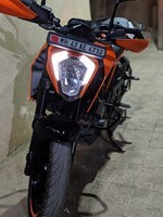Ktm 250 Duke Left Side