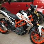 Ktm 390 Duke Left Side