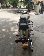 Royal Enfield Classic 500 Rear View