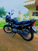 Bajaj Ct 100 Left Side