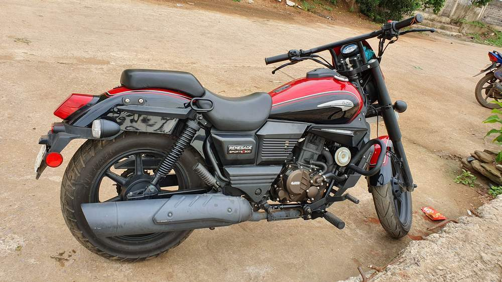 Um Motorcycles Renegade Sport S Rear View