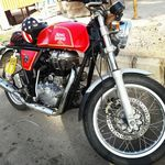 Royal Enfield Continental Gt Left Side