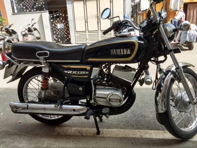 Yamaha Rx 135 Rear View