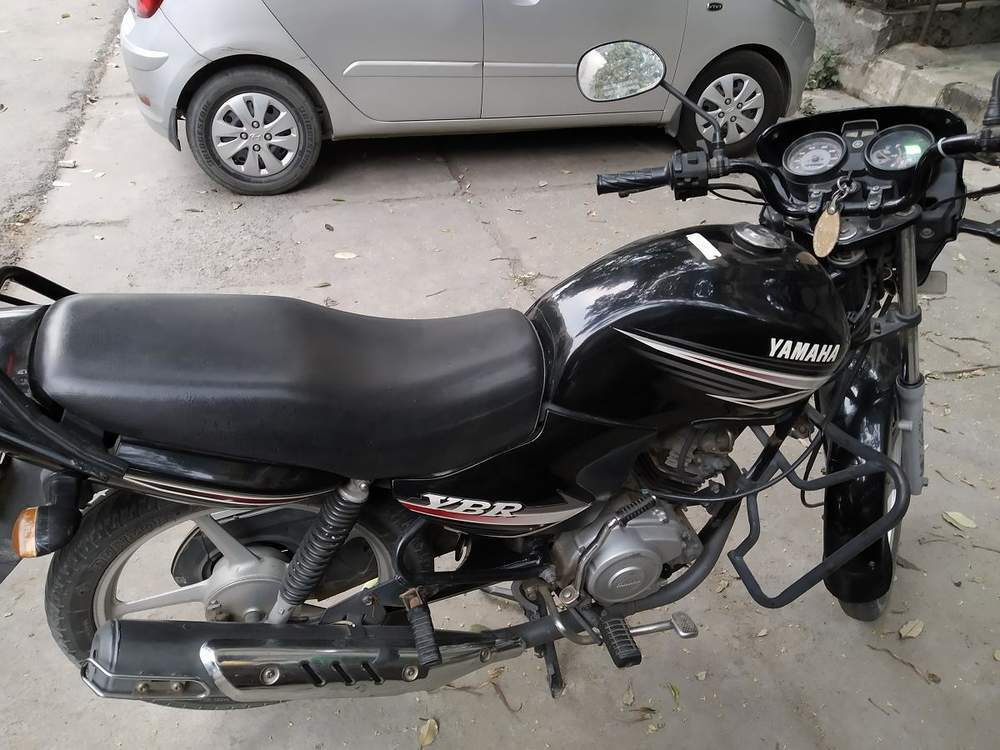 Yamaha Ybr 110 Rear View