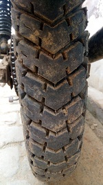 Bajaj Discover 100 Rear Tyre