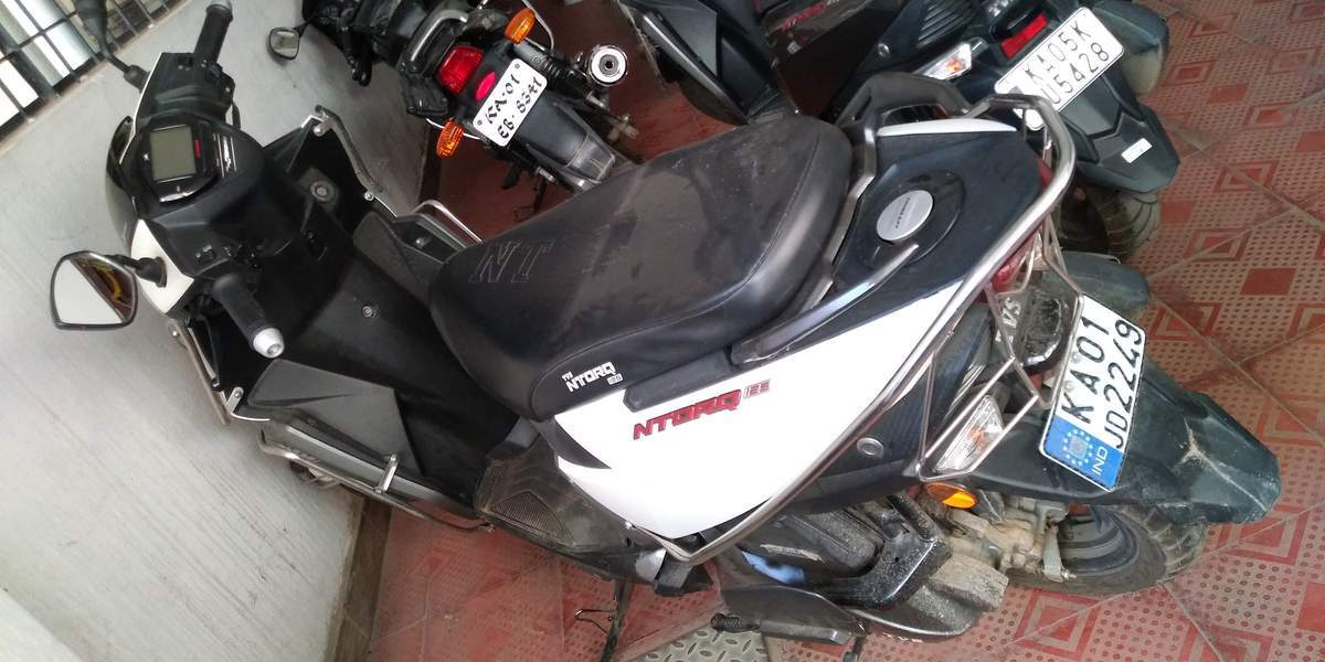 Tvs Ntorq 125 Front View