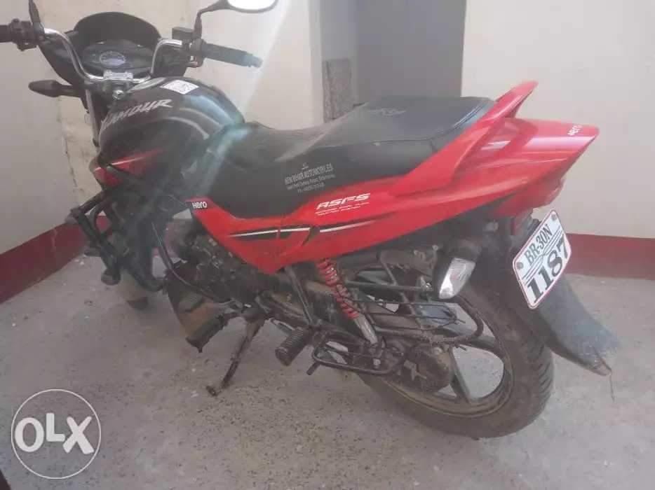 Used Hero Glamour Bike in Sitamarhi 2016 model, India at Best Price