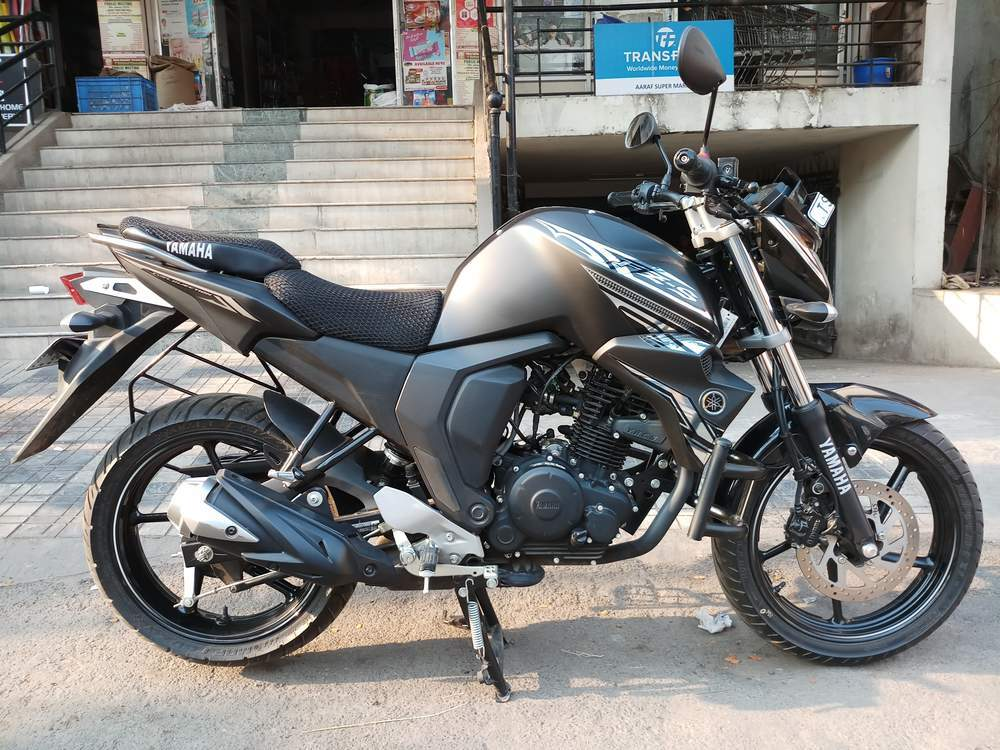Used Yamaha Fz S V20 Fi Bike in Hyderabad 2017 model ...