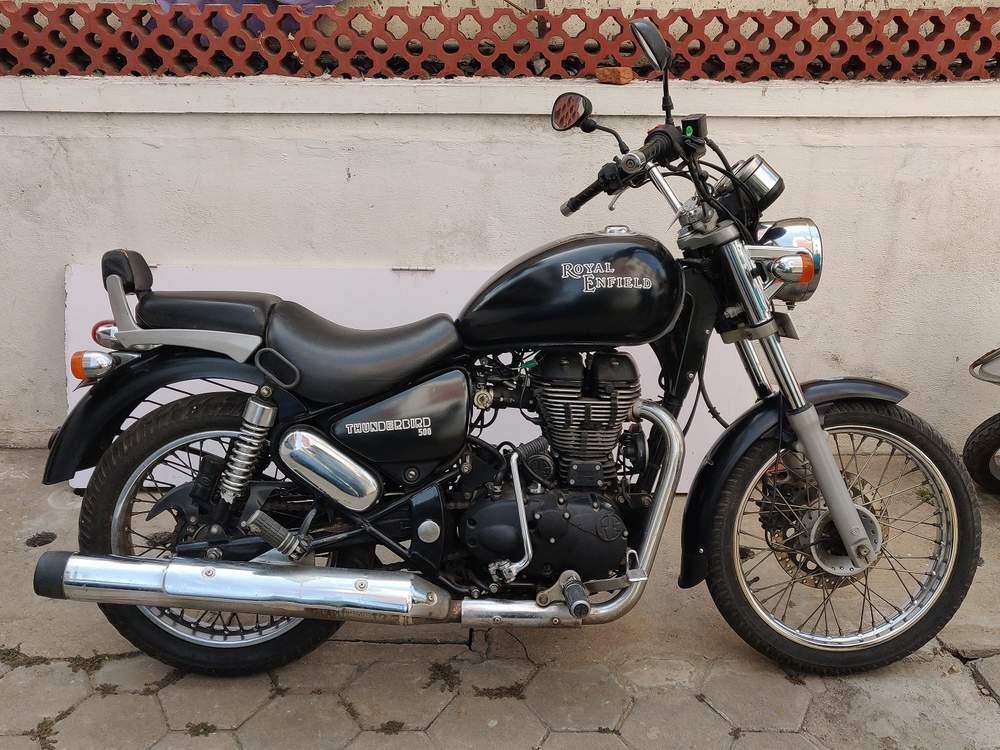 used royal enfield thunderbird 500 bike in chennai 2014 model india