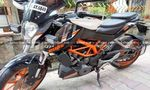 Ktm 390 Duke Abs Rear View