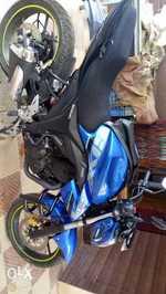 Suzuki Gixxer Left Side