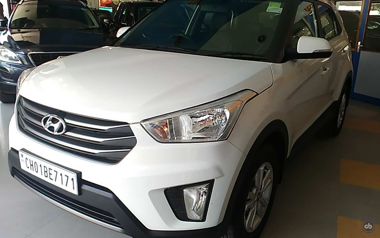 Used Hyundai Creta 1 6 Sx Plus Diesel In Chandigarh 2015 Model