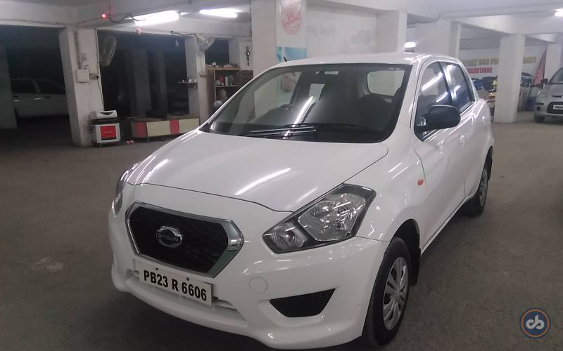 Datsun Go Front Left Side Angle View