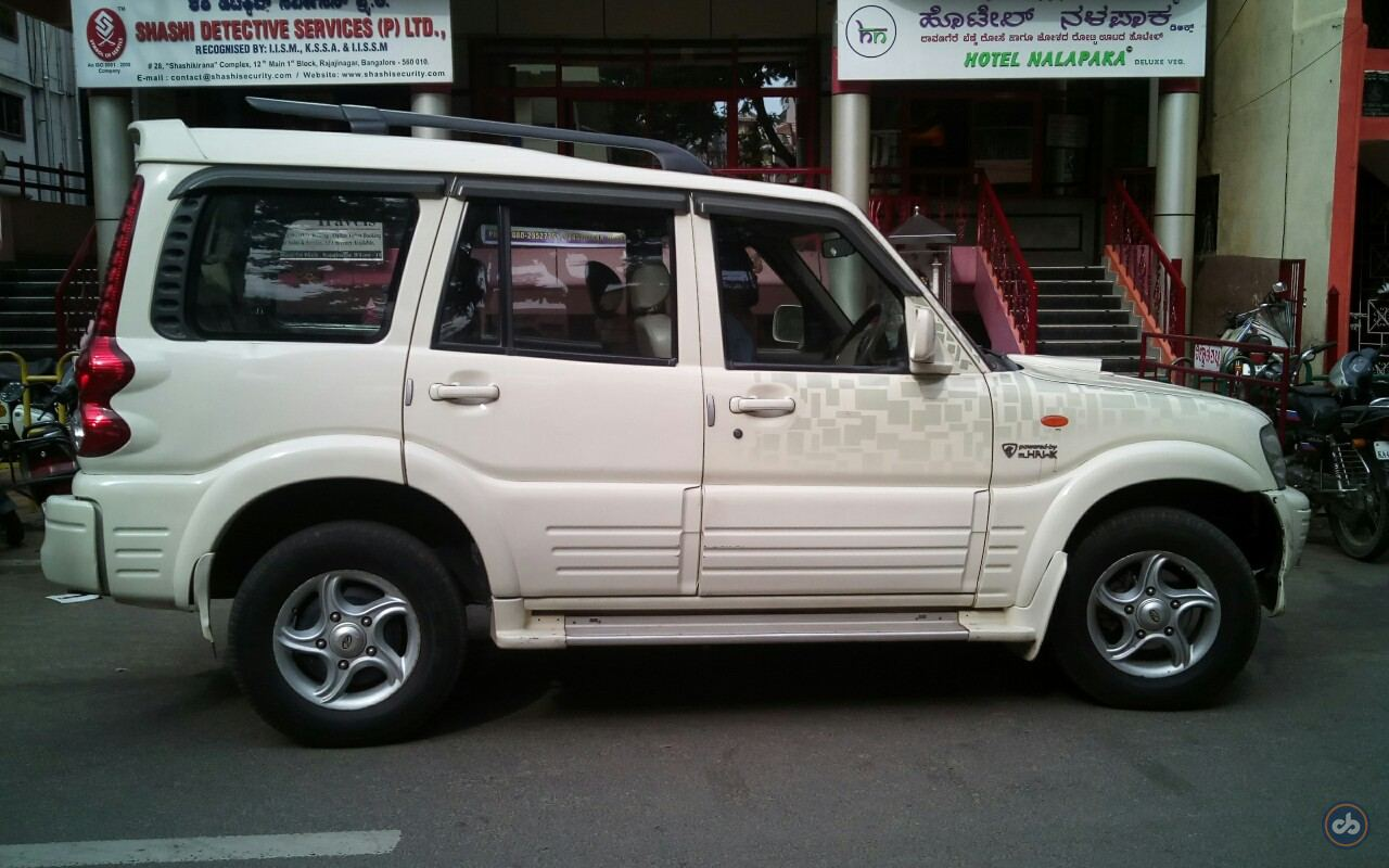 Used Mahindra Scorpio VLX 2WD BS4 in Bangalore 2008 model, India at