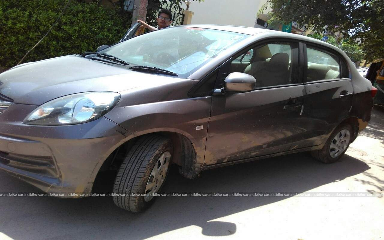 Used Honda Amaze S Mt Diesel In Gurgaon 2013 Model India At Best Front View Bikes Left Side Angle