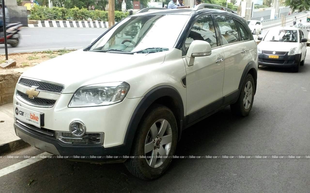 Used Chevrolet Captiva Xtreme In Bangalore 2010 Model